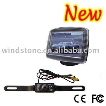 Car Wireless Camera System 3.5 inch TFT Monitor