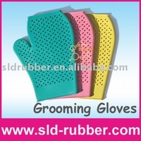 Rubber Pet Grooming Glove