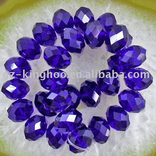 10mm Dark Blue Crystal Beads(China (Mainland))