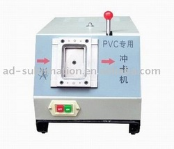 PVC Card Machine, Checa machine,Motor Punch Card Machine(Hong Kong)