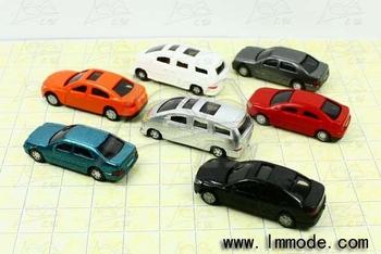 HO Scale Model Car for Model Train Layout