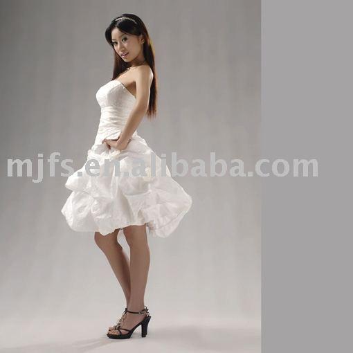 Cheap Dresses Short Dress Bridesmaid Dress Short White
