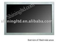 "19"" lcd advertising monitor support CF/SD, USB card reader"