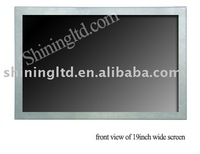 "19"" lcd advertising monitor support CF/SD, USB card reader"