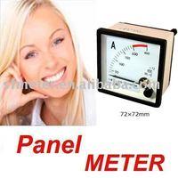 Analog AMP/Ampere Panel Meter AC 200A 72*72mm