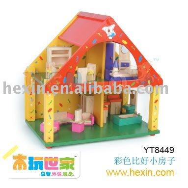 benho/высокое качество деревянных игрушек настроек деревянная