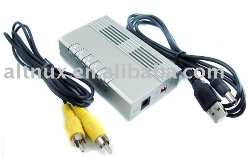 Sell PC VGA to TV RCA Video Siginal Converter Adapter Box HI5(China (Mainland))