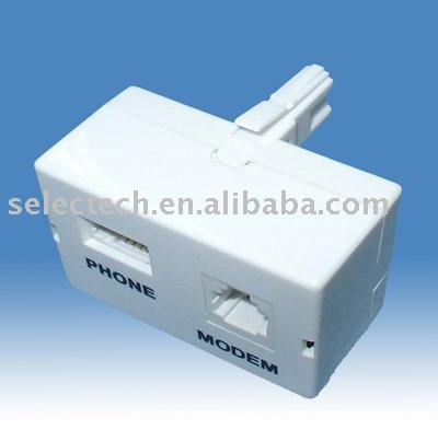ADSL splitter SE-UK07W(China (Mainland))