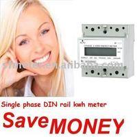 Watt-hour meter - DIN rail Electric kwh meter