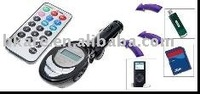 100pcs/lot Car MP3 Player FM Transmitter & Remote M338d-DR