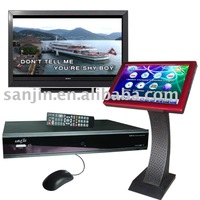 "FREE SHIPPING- Professional Karaoke +1000GB Hard Disk + 19"" LCD Touch Screen (KOD-6)"