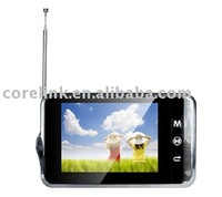 """3.5"""" ISDB-T portable DTV with Multi-media player"""