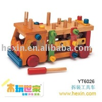 <BENHO/HIGH QUALITY WOODEN TOY>Toy Truck ( tool truck,tool cart,wooden truck )