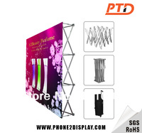8ft Fabric Pop Up  Stand,pop up  display without printing