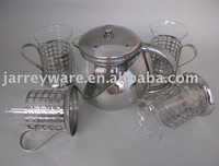 glass coffee& tea maker