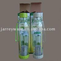 Plastic Tea bottle with tea filter