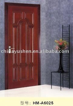solid wooden door with popular design
