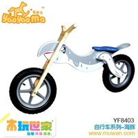 <BENHO/HIGH QUALITY WOODEN TOY>Wooden bicycle-dolphin