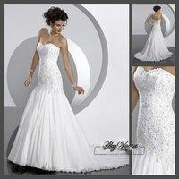 SM8O11*Chiffon Bridal Gown Wedding Dress