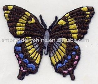 butterfly appliques heart/flower appliques