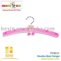 <BENHO/HIGH QUALITY WOODEN TOY>Wooden toys-Doudou Hanger(wooden products,wooden hanger,wooden clothes hanger)