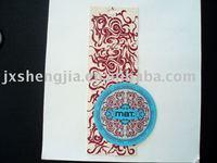 hang tag of garment accessory