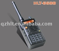 security guard equipment HLT-6688<5W UHF/VHF,VOX>