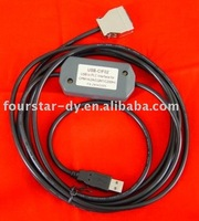 Model:USB-CIF02, programming cable of OMRON PLC.Factory direct sale.One year warranty.