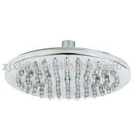 Retail - Luxury Steel Round Rainfall Shower Head, Top Shower Head, 8 Inch Rain Shower Head, Chrome Finish, Free Shipping X15711