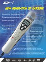 FREE SHIPPING- Player(MP4 Karaoke Microphone Player,SD Karaoke Microphone Player,Multi format Karaoke Microphone Player