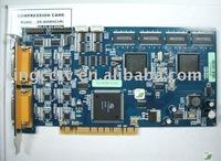 real time Hardware Compression PCI board H.264  8chs PCI board DS-4008HCI