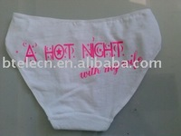 glow in the dark underwear,lady underwear