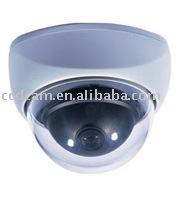 CCTV CCD Color Plastic Dome surveillance camera