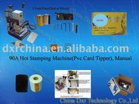 RFID Pvc card tipper