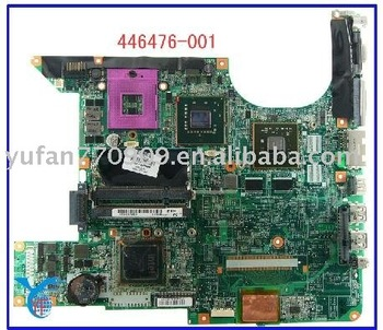Hot selling used DV6000 446476-001 intel non-integrated Laptop motherboard