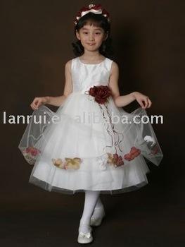 Little Queen Flower Girl Dress