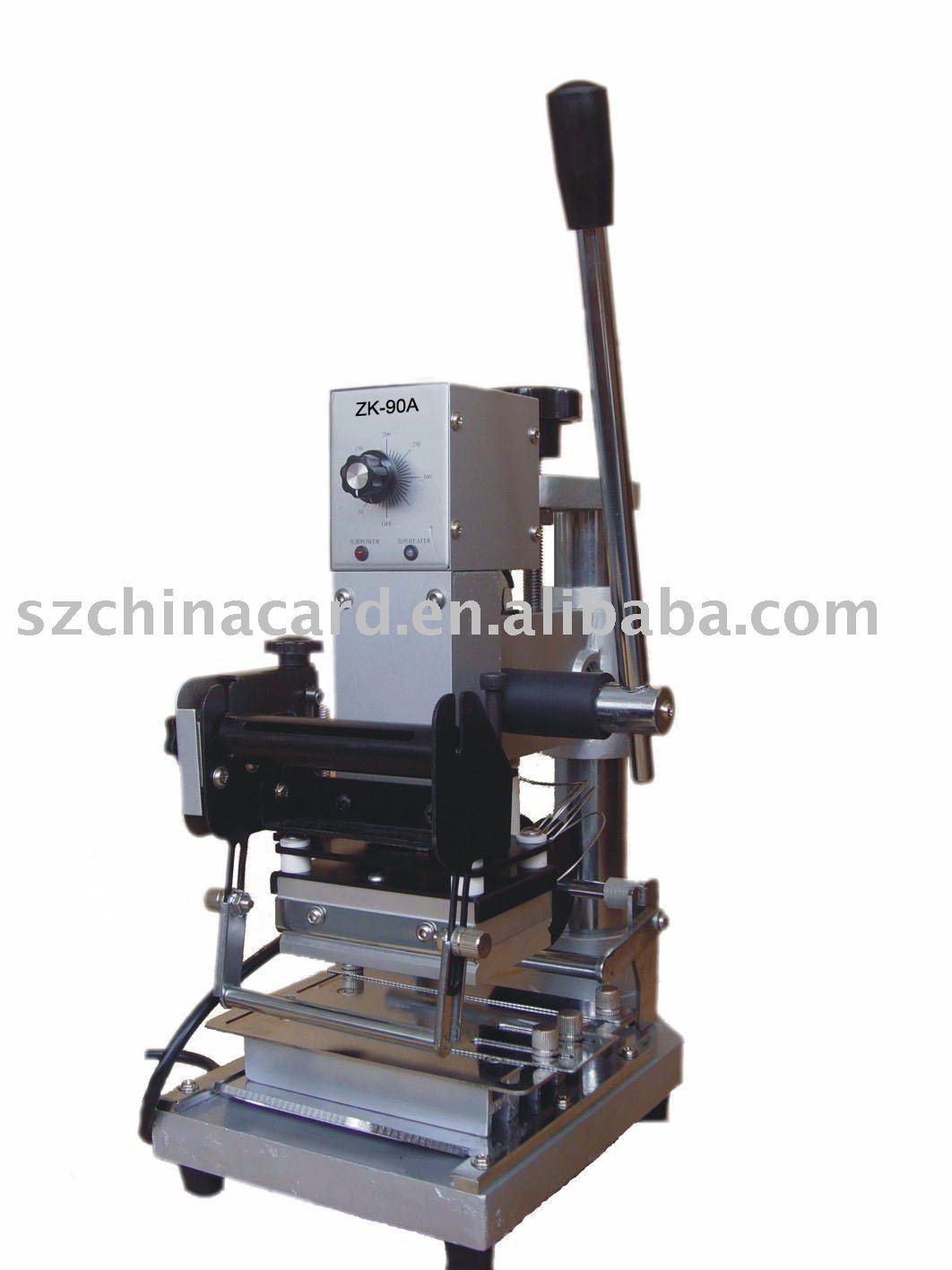 card tipper machine