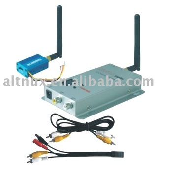 2.4Ghz 100mW Wireless AV transmitter Receiver 12 Channels