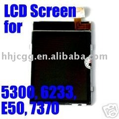 Mobile LCD Screen Display for Nokia 5300 6233 E50 7370 free shipping(China (Mainland))