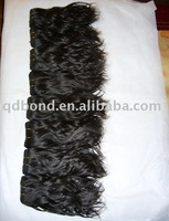 10&amp;quot; Virgin Indian remy human hair weft extension free shipping