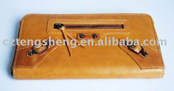 High quality for Ladies genuine leather wallet 09005(China (Mainland))