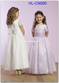 lovely little girl dress HL-CN095