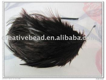 feather hairband,free shipping , 2010 new fashion feather headband, hairband, Christmas gift, Christmas party headband