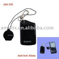 Free shipping High-sensitive mini wireless painted anti-lost alarm for mobile/pet/kid/wallet/luggage by manufacturer