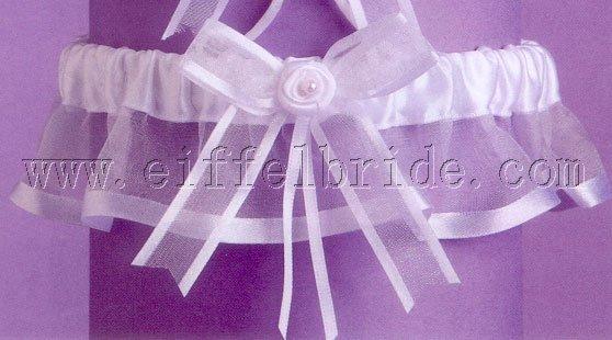 ga1058 Infinity Bridal Garter Set