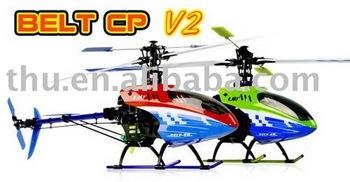 Frete grátis (1pcs/lot) Esky Big Lama Belt CP V2 6CH ESKY RC Elétrico RC, RC helicóptero de brinquedo.