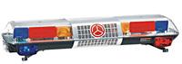 """Special Offer! TBD-GA-05628E Traffic Lightbar + 100W siren + 100W speaker, 47"""" length, DC12/24V, Power 160W, PC lens"""
