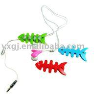 fashion silicone earphone wraps