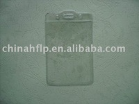 clear pvc holder use for insert creidt card or bank card and convenience to take it