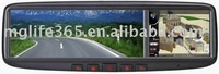 3.5 inch Rearview GPS mirror